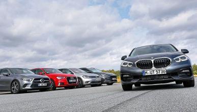 BMW Serie 1 vs Volkswagen Golf, Audi A3, Ford Focus y Mercedes Clase A