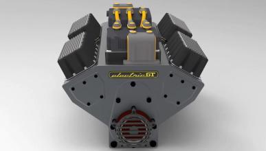 Electric GT crea el primer motor V8 eléctrico instalable en cualquier coche