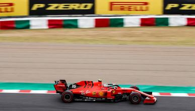 Ferrari en el Circuito de Suzuka