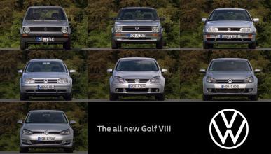 Frontal Volkswagen Golf