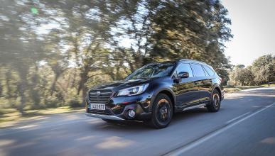 Prueba Subaru Outback GLP 2.5