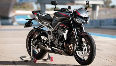 street-fighter moto deportiva lujo altas prestaciones circuito