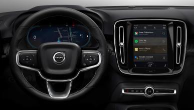 Volvo XC40 eléctrico: sistema de entretenimiento