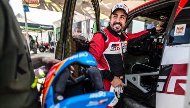 Alonso en el Ula Neom Rally