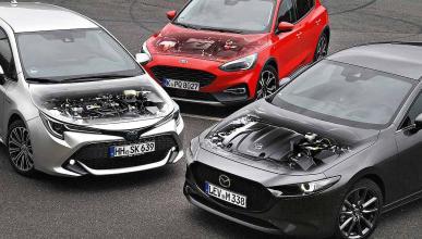 Comparativa: Mazda 3 vs Toyota Corolla y Ford Focus
