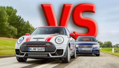 Comparativa del Mini John Cooper Works Clubman All4 vs Audi S3 Sportback
