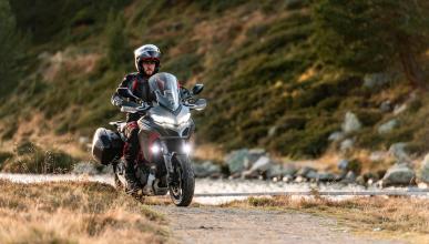 moto trail lujo premium altas prestaciones