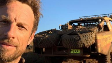 Jenson Button en la Baja 1000