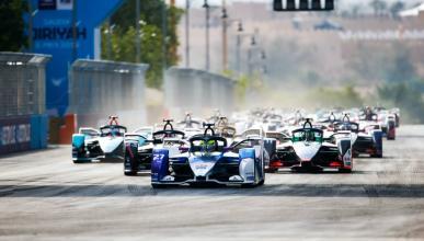 Salida de la Fórmula E en Arabia Saudí