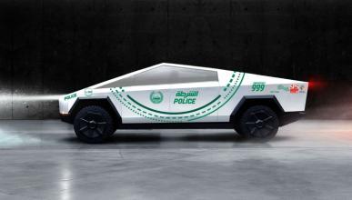 Tesla Cybertruck de la policía