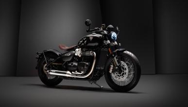 moto exclusiva lujo edicion limitada negra detalles