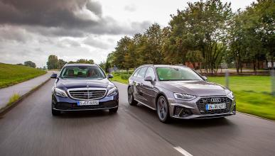 Comparativa: Audi A4 Avant y el Mercedes Clase C Estate