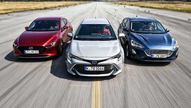 Comparativa del Mazda3 vs Toyota Corolla y Ford Focus
