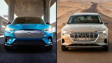 Ford Mustang Mach-E vs Audi e-tron
