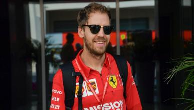 Sebastian Vettel en Abu Dhabi