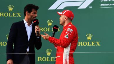 Sebastian Vettel y Mark Webber