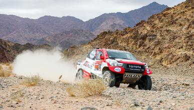 Alonso en la Etapa 4 del Dakar 2020