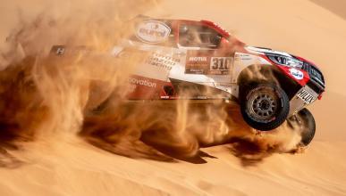 Alonso en la Etapa 8 del Dakar