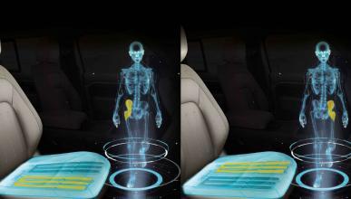 asiento del futuro Jaguar Land Rover