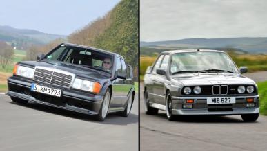 BMW M3 E30 vs Mercedes 190E 2.5-16 Evolution II