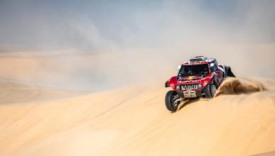 Carlos Sainz en la Etapa 11 del Dakar