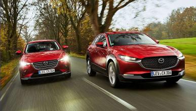 Comparativa fraternal del  Mazda CX-3 vs CX-30