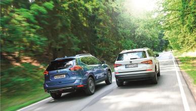 Comparativa: Nissan X-Trail vs. Skoda Kodiaq
