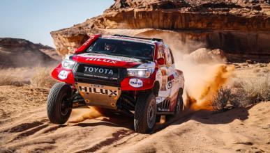 Fernando Alonso en el Dakar 2020