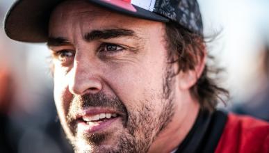 Fernando Alonso en el Dakar