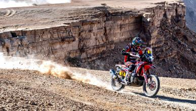 motos desierto rally off-road