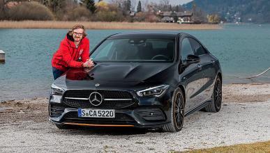 Prueba del Mercedes CLA 2019