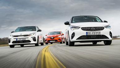 Comparativa del nuevo Opel Corsa vs Renault Clio y el Kia Rio