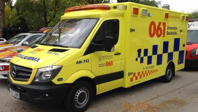 Conductor de ambulancia bajo los efectos de las drogas