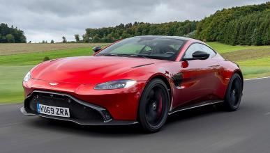 Prueba del Aston Martin Vantage AMR