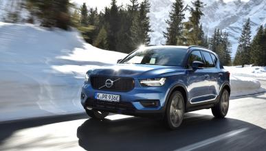 Prueba Volvo XC40 PHEV 2020