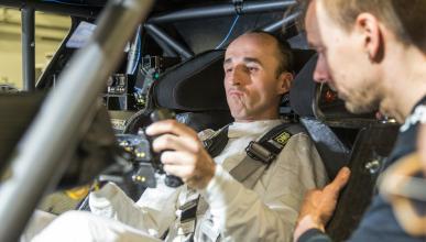 Robert Kubica con BMW en el DTM