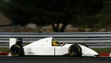 Senna prueba motor Lamborghini