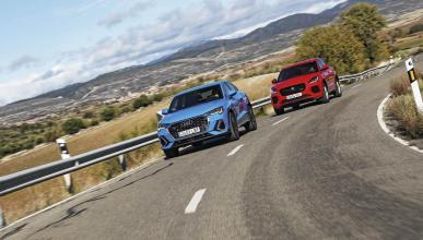 Audi Q3 SB vs Jaguar e-Pace