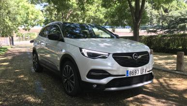 Prueba del Opel Grandland X Hybrid4