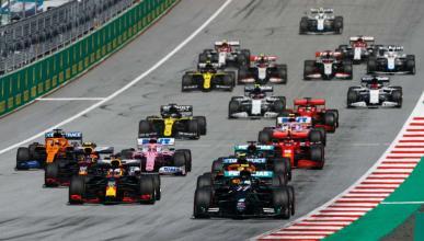 Salida GP Austria 2020
