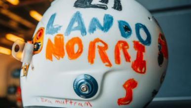 Casco Lando Norris