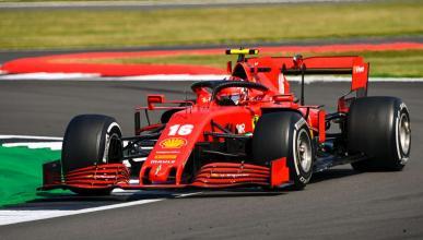 Leclerc Silverstone Ferrari