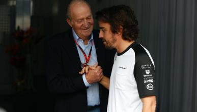 Rey Juan Carlos y Alonso