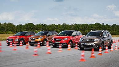 Dacia Duster vs Hyundai Kona, Opel Crossland X y Renault Captur
