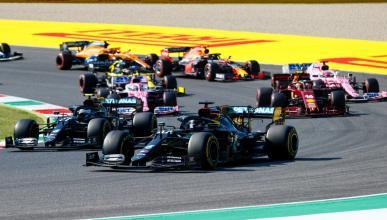 Hamilton en el GP de Toscana