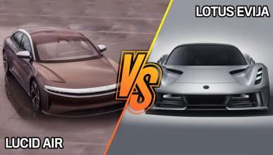 Lotus Evija o Lucid Air, ¿cuál es más radical?