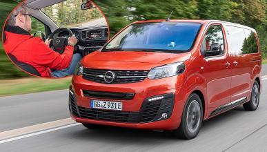 Prueba del Opel Zafira-e: el eléctrico para todo