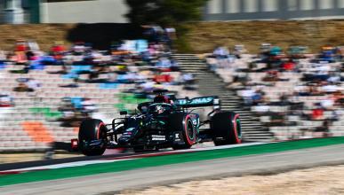 Pole de Hamilton en Portugal