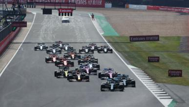 Salida GP Silverstone