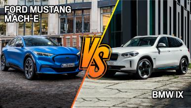 BMW ix3 vs Ford Mustang mach-e